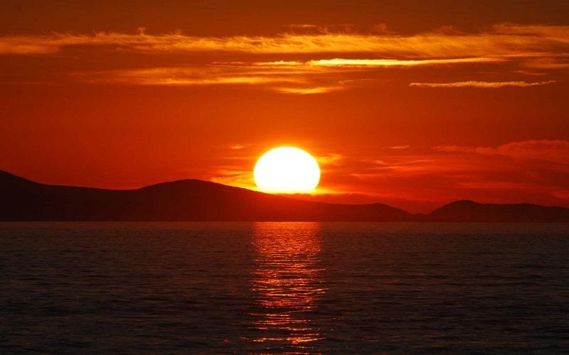 Où se trouve le soleil le matin