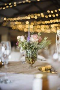 bouquet de fleurs séchés mariage