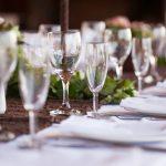 Décoration de table de mariage champêtre