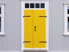 Les avantages d'une porte d'entrée en aluminium