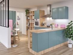 5 types de verrières d'intérieur pour aménager votre cuisine