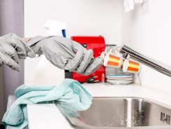 Comment nettoyer la graisse de la cuisine ?
